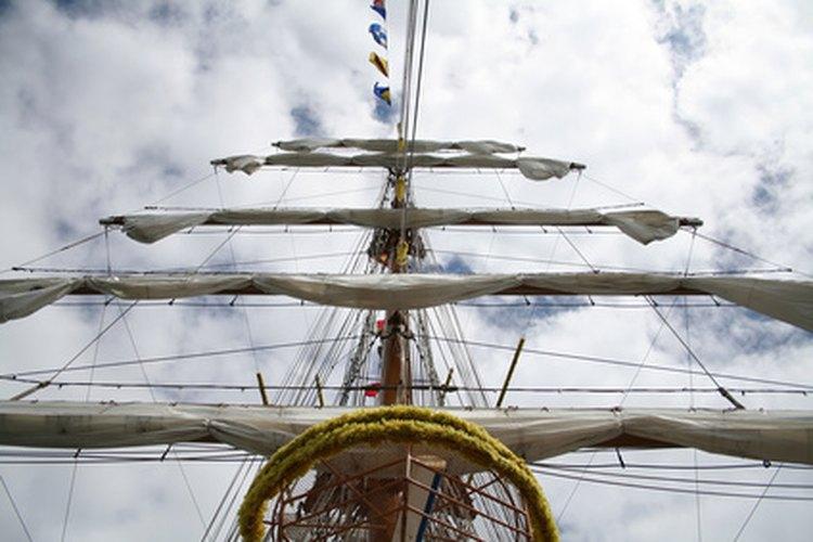 """En el distante pasado, el marinero ordinario iba a bordo para """"aprender el oficio""""."""