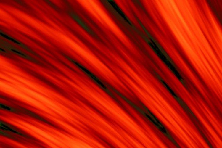 La henna natural produce un color rojo-naranja.