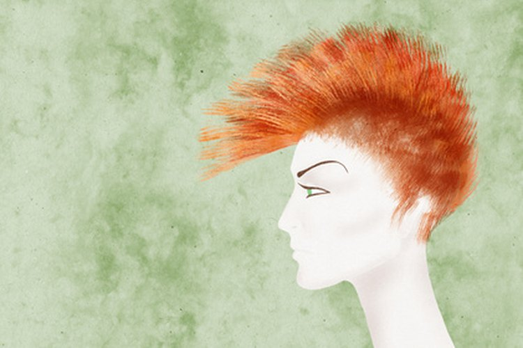 Los peinados punk son perfecos para cualquiera con una personalidad divertida, extrovertida y segura de sí misma.