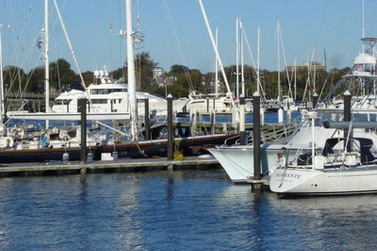 Una de las bellas bahías de Rhode Island.