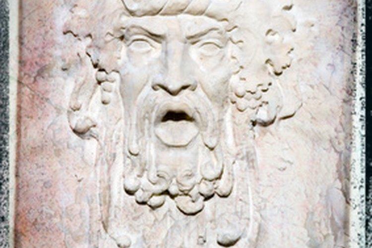 En la mitología griega, existen símbolos que representan objetos o actividades asociadas con dioses específicos.