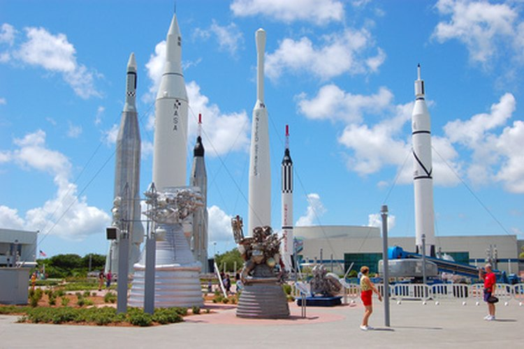Cohetes del Kennedy Space Center.