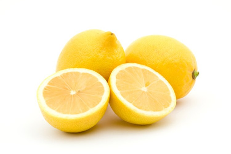 Los limones son ácidos.