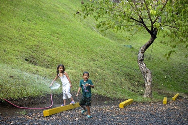 A tu niño en edad preescolar le van a gustar los juegos al aire libre.