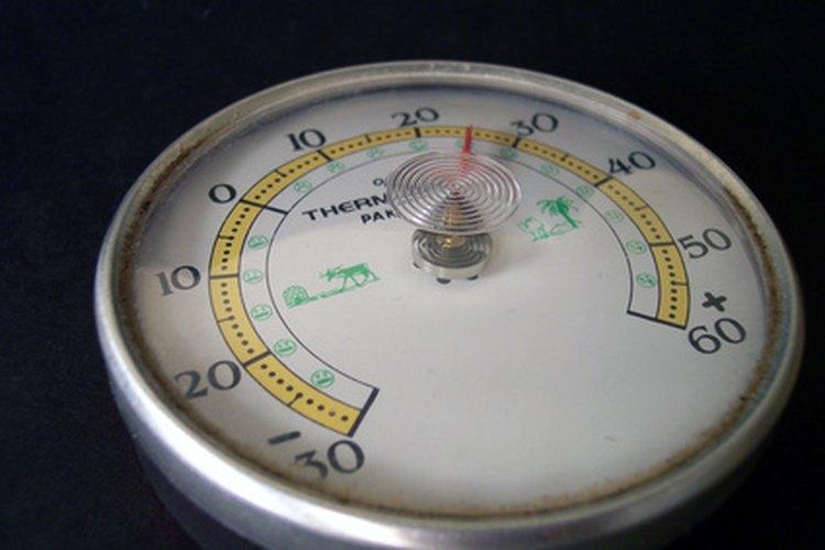 Los termómetros portátiles miden el rendimiento del sistema.