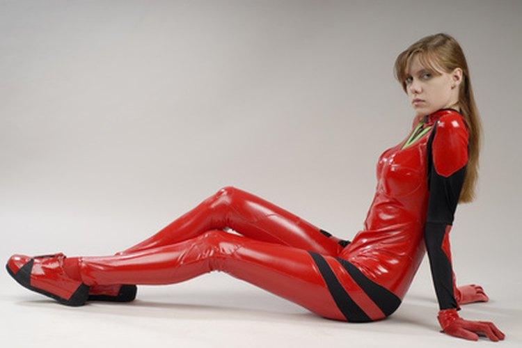 Puedes hacer un body entero de cualquier tipo de material elástico para lograr el aspecto deseado.