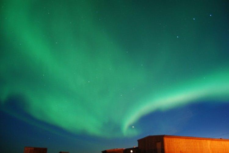 Estas luces también se conocen como luces del norte.