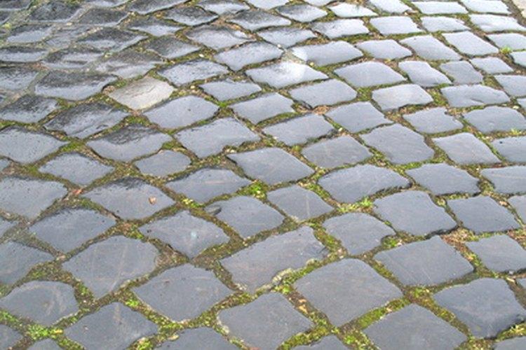 Los pisos de piedra laja tienen un bello aspecto rústico y son muy fáciles de limpiar.