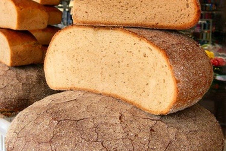 Diferentes panes leudan de diferentes formas.