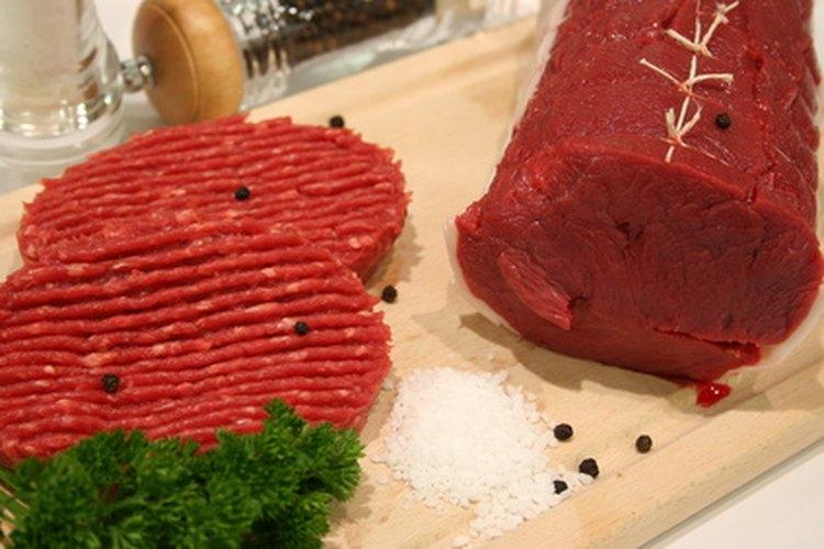 La carne de res magra es una rica fuente de nutrientes.