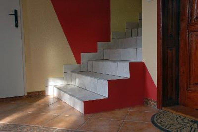 Escaleras de cerámica.