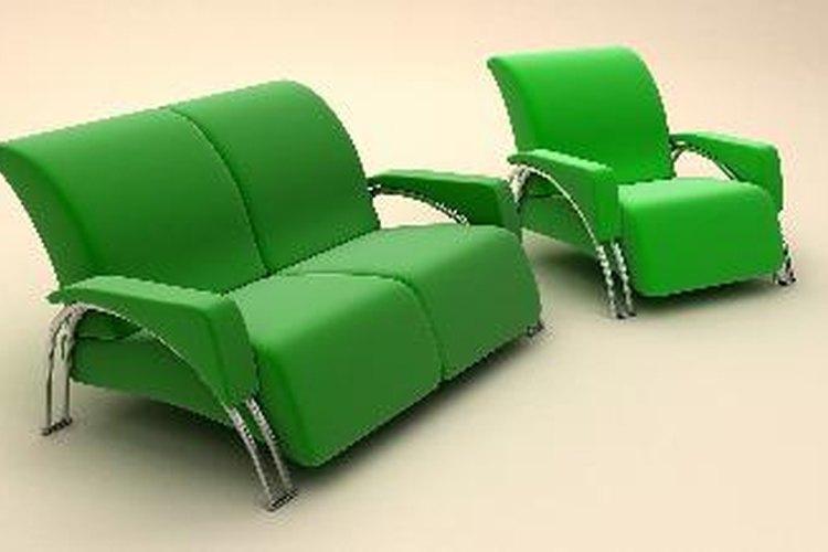 Los sillones reclinables son opciones cómodas para la sala de estar.