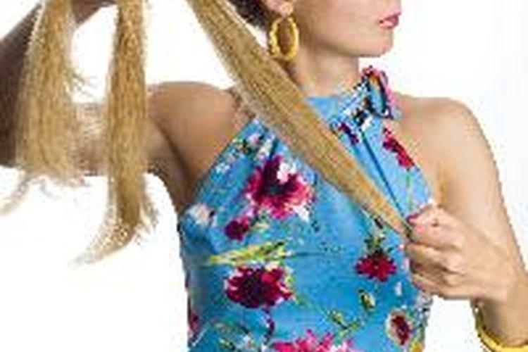 Puedes teñir tu cabello luego de haberlo decolorado.