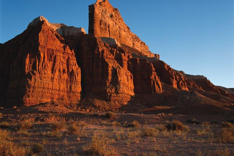 El Parque Nacional Capitol Reef se encuentra en el estado de Utah.