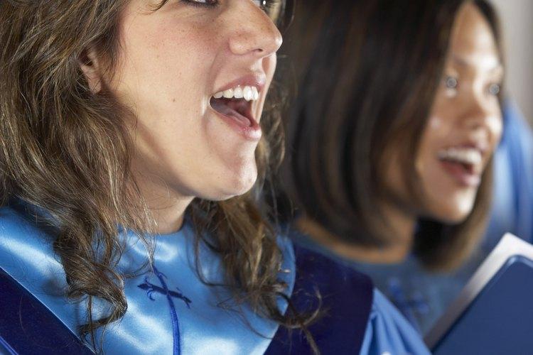 Las tarimas para coro pueden funcionar para diferentes escenarios musicales.