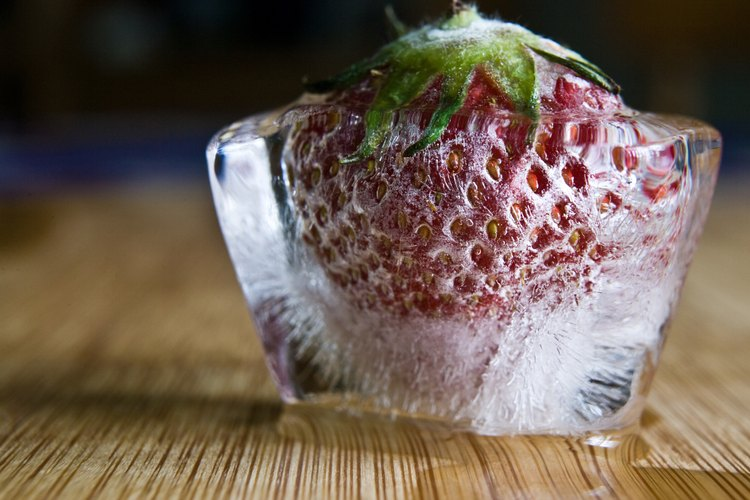 La fruta congelada conserva la mayor parte de su valor nutricional.