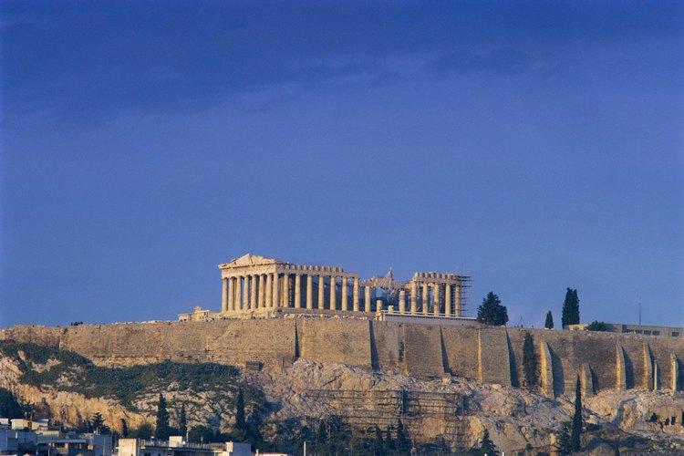 La literatura griega antigua está llena de lecciones morales.