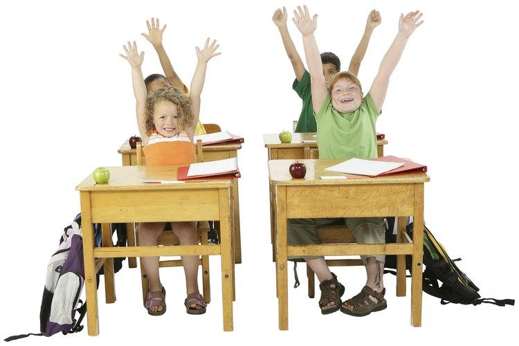 Ten un poco de diversión en el aula con actividades.