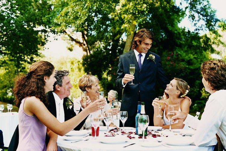 El brindis puede ser uno de los momentos más memorables de una boda.