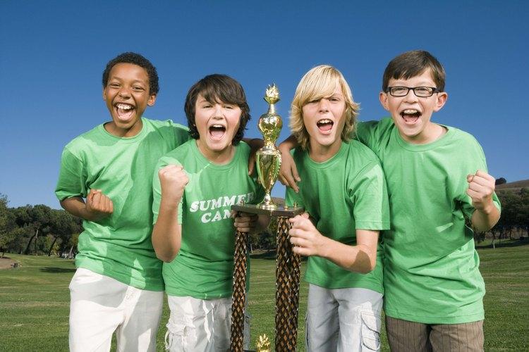Los deportes infantiles suelen ser tan competitivos como los de los adultos.