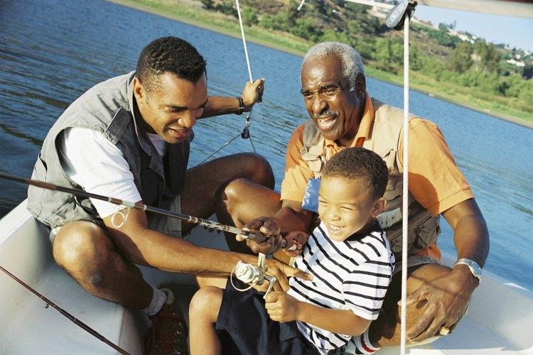 La pesca es una actividades divertida para toda las edades.