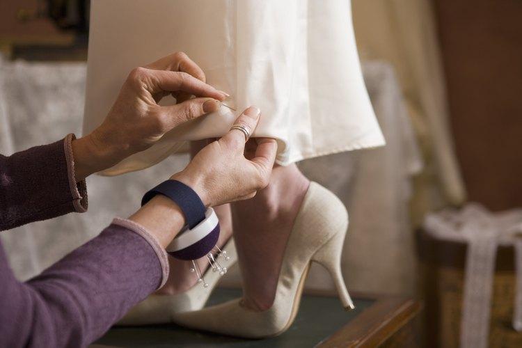 Los zapatos satinados son ideales para bodas y otras ocasiones especiales.