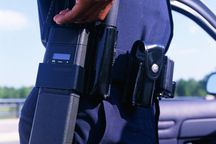 Los agentes de policía poseen una amplia variedad de habilidades y destrezas.