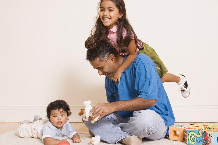 Los padres solteros son una parte en aumento de la sociedad de EE.UU..