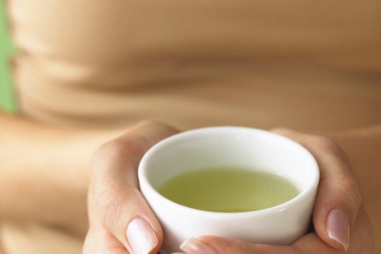 Hay muchos tipos de té verde.