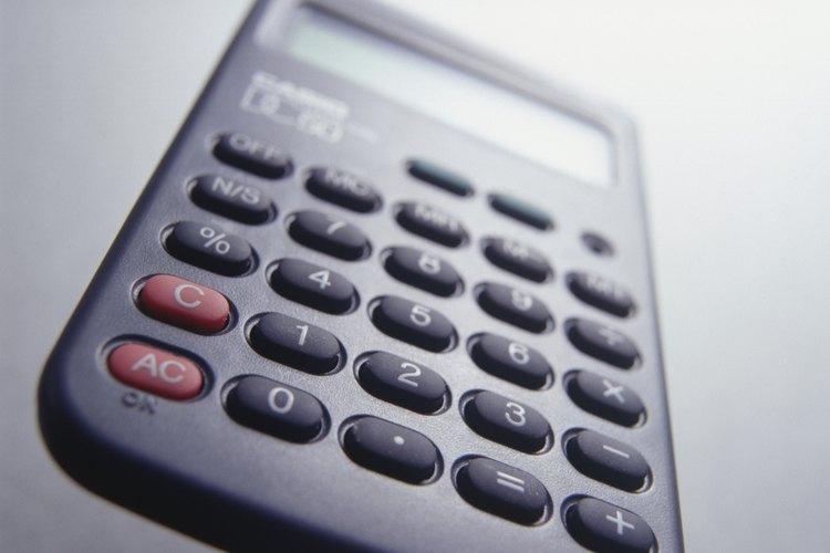 Una calculadora con la función de raíz cuadrada calcula fácilmente los cuadrados imperfectos.