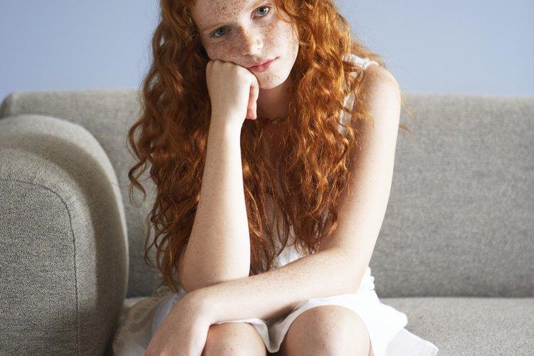 Los adolescentes presentan cambios de humor en un período relativamente corto.