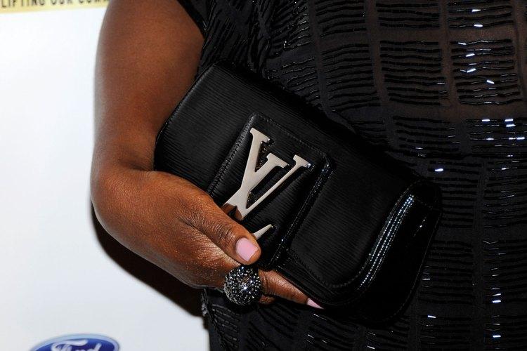 El logotipo LV es un símbolo de calidad clásica.