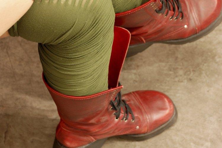 Tú puedes hacer tus propias botas de cuero.