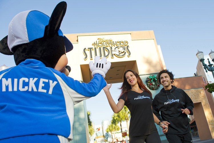 Walt Disney World ofrece aproximadamente 16 rutas para correr.
