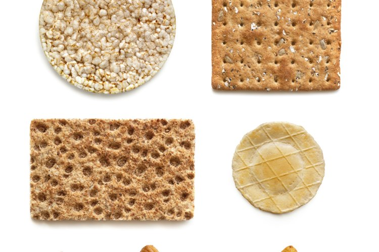 Las galletas de arroz son una alternativa saludable a las típicas galletas saladas.