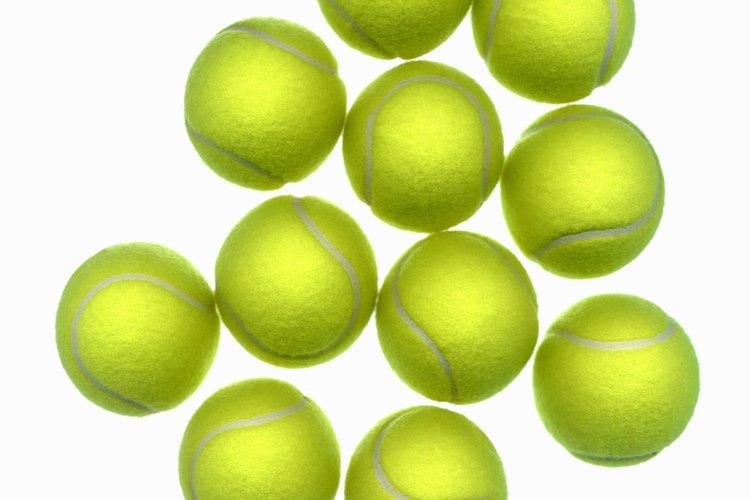 Las pelotas de tenis evitan que se formen bultos en las prendas que no tienen acolchado.