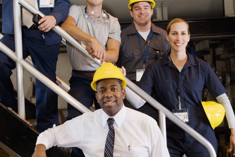Existen diferentes juegos de responsabilidades para cada tipo de rol administrativo en el lugar de trabajo.