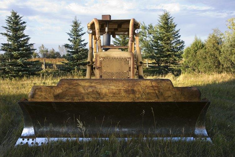 Las excavadoras son una herramienta principal utilizada en la construcción de carreteras.
