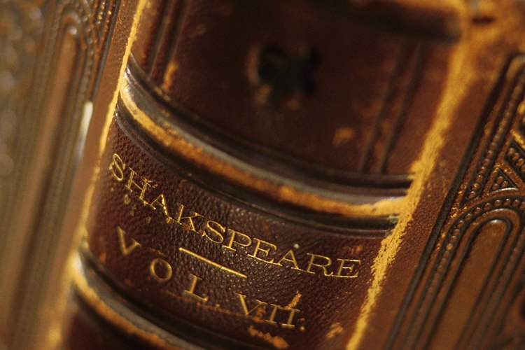 Las obras de Shakespeare a menudo tratan de cuestiones éticas.