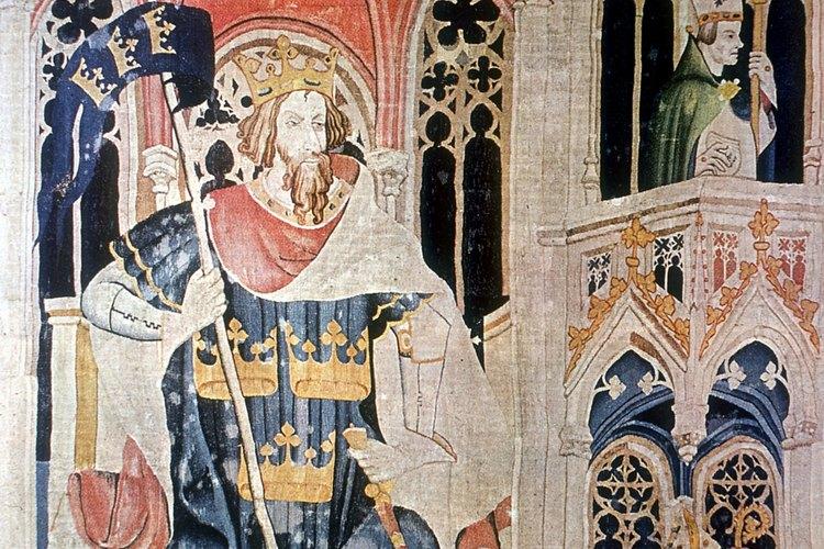 Los personajes legendarios como el Rey Arturo eran presentados como caballeros ideales.