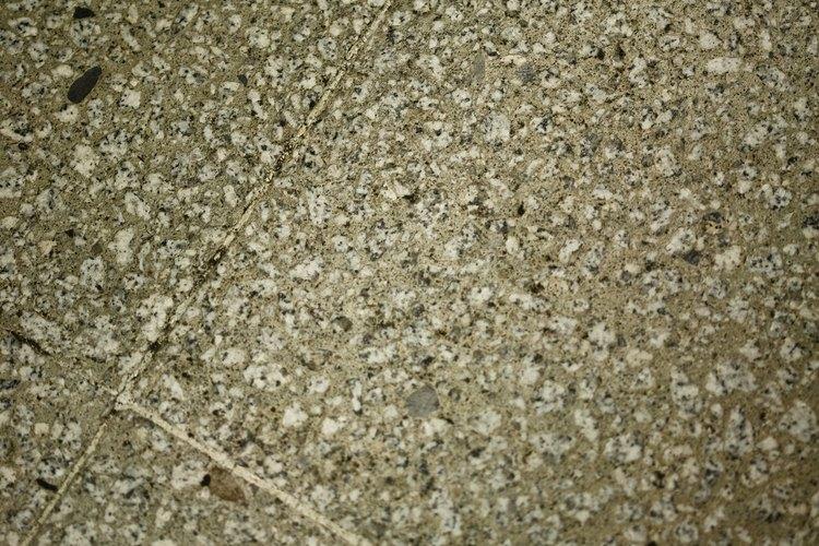 Las baldosas de concreto pueden ser de diferentes texturas.