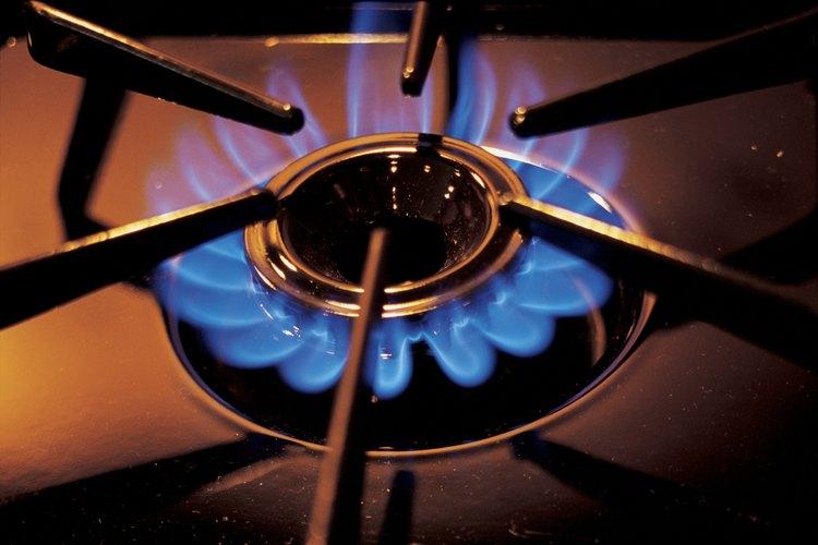 Mantén los quemadores limpios para mantener su eficiencia.