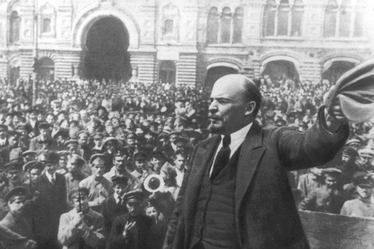 Lenin fue uno de los grandes líderes de la Revolución Rusa.