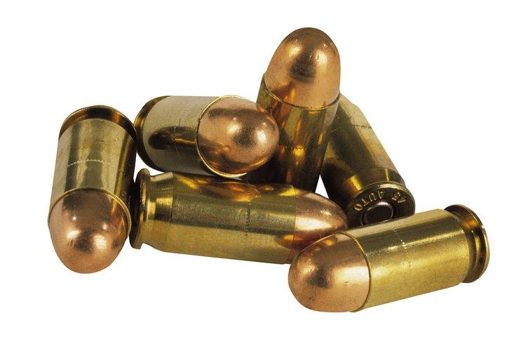 Las balas calibre 22 son las más utilizadas para hacer diseños de alhajas.