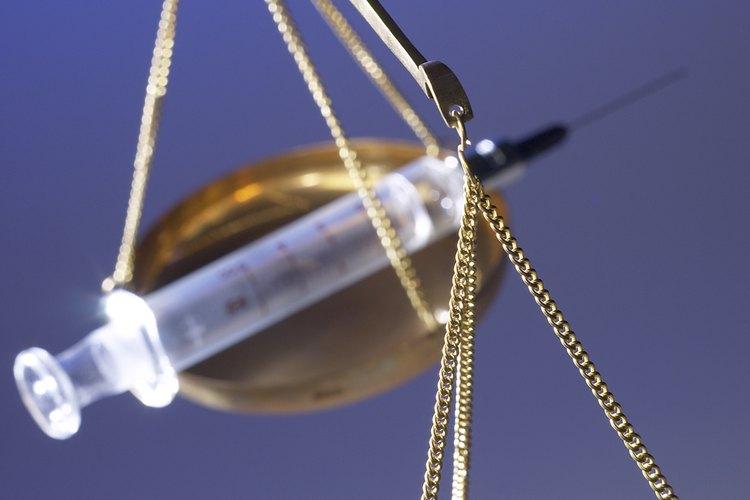 Las penas de drogas varían en los EE.UU..