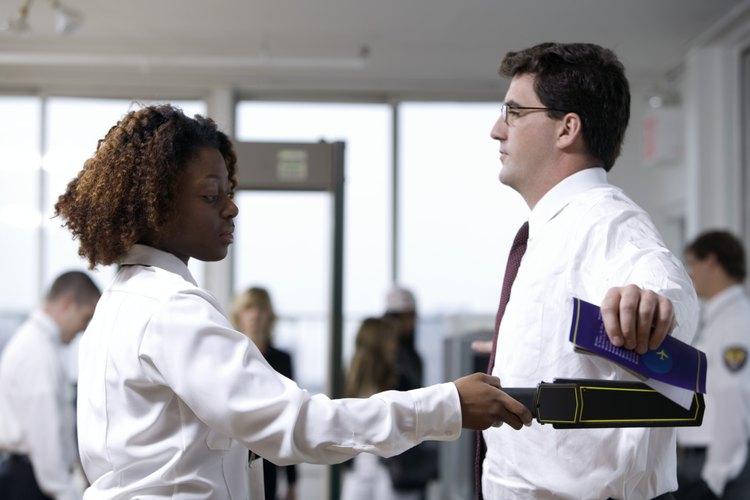 Las entrevistas de guardia de seguridad pueden centrarse mucho en las experiencias pasadas.