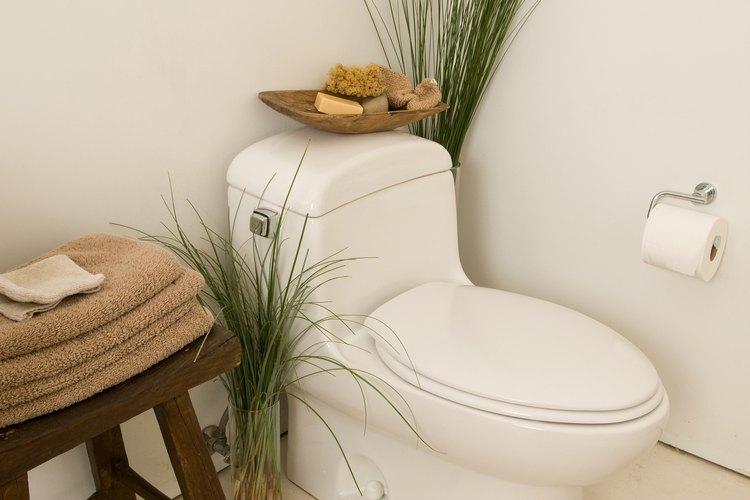 Mantén la condición del asiento de tu inodoro con insumos de limpieza apropiados.