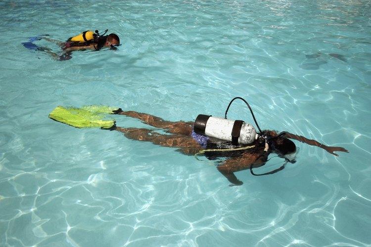 Convertirse en un instructor de buceo definitivamente no es el trabajo para alguien que busca hacerse rico.