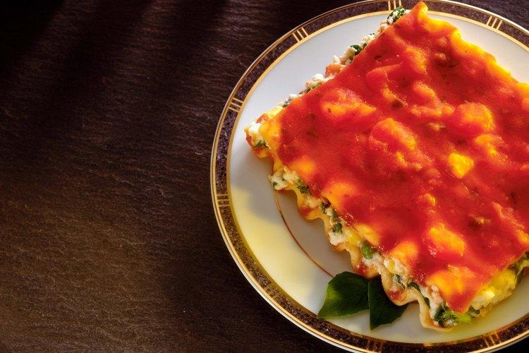 La lasaña es una opción para tu primo piatto, o primer plato.