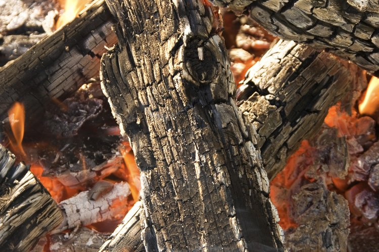 El fuego o ceniza de madera es buena para los contenedores de compost.